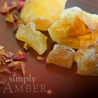 Amber natural soy jar candle - 100% Australian Made