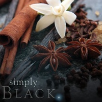 Black natural soy jar candle - 100% Australian Made
