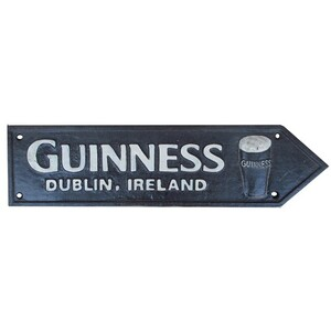 Guiness road sign 40cm