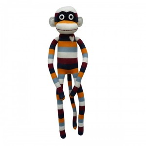 Tascious retro stripes monkey 70 cm