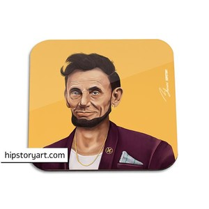 Abraham Lincoln Coaster - Sold Individually