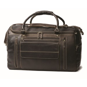 Britannia travel bag dark brown