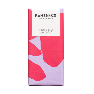 Chocolate Bars by Bahen & Co (Magret River, WA) - 70% Chilli & Sea Salt - 75g