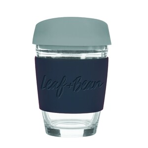 Sorrento Glass Travel Cup 340ml BK