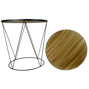 Large round geom tri table
