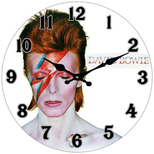 David Bowie clock 17cm