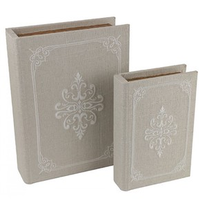 Book Box Sandy Motif Set/2