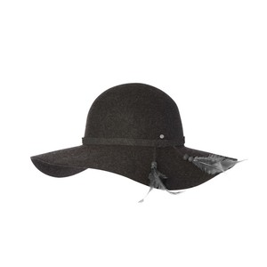 Ladies wide brim - ever after (char marle)