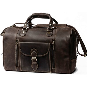 Kunjara travel bag dark brown