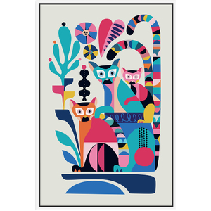 Artist Lab - Rachel Lee - Lemur - 40x60cm - CLICK & COLLECT ONLY