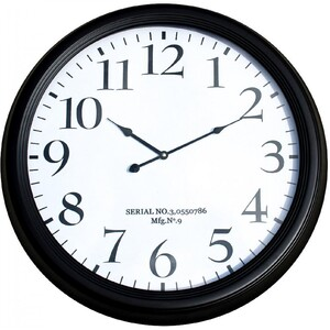 Clock Clean Numbers 62cm - Click & Collect Only