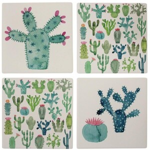Coasters Cute Cacti