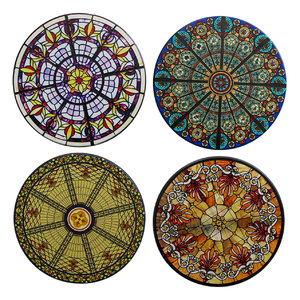 Coasters (db) Stained Glass