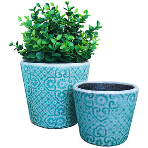 Pot Aqua Moroc S/2 - Sizes sold separately
