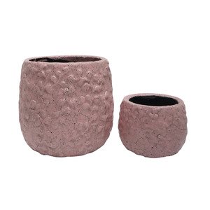 Pot Petals S/2 Pink - Sizes sold separately