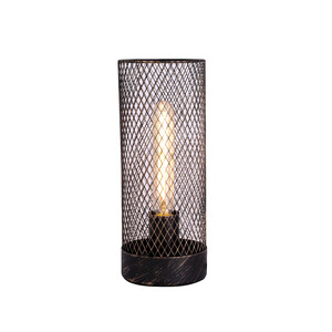 Clara Touch Table Lamp - Black