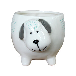 Planter Snoopy Dog