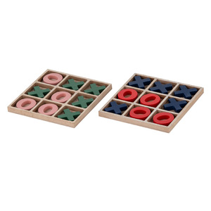 Noughts & Crosses 2 Asst 15x1.2x15cm