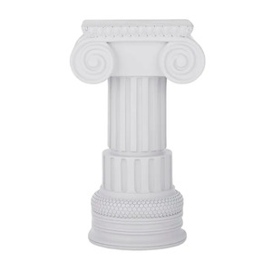Athenian Column Resin Plinth 18x30cm Gy