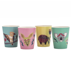 Native Friends B'boo Fibre Cup Set/4