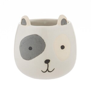 Spotty Dog Pot 12x12cm
