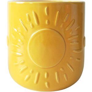 Elemental Sun Planter Yellow Med 14cm